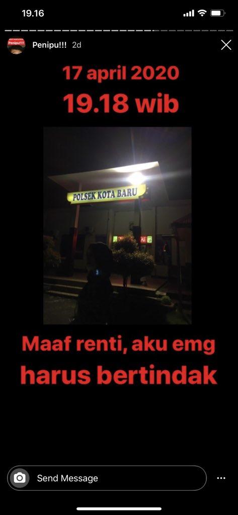 Photo of (3)Korban Penipuan Sahabat Sendiri Yang Pura-Pura Jadi Pacar Dilaporkan ke Polisi