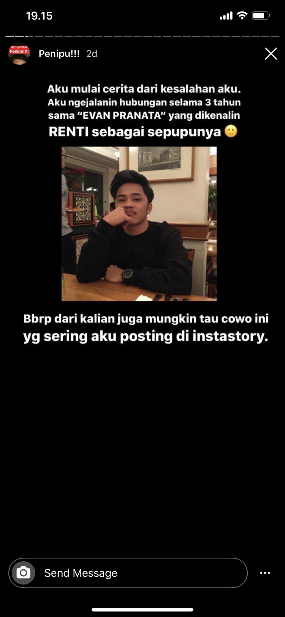 Photo of (2)Ternyata Evan Adalah Renti, Teman Dekat N