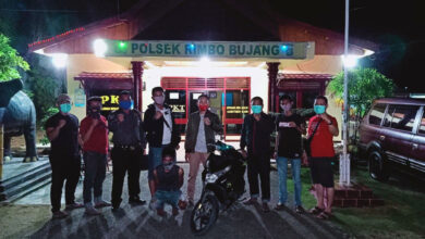 Photo of Beraksi di Rimbo Bujang, Begal Asal Sumsel dan Lampung Ditangkap