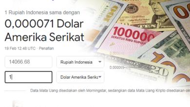 Photo of Naik Turun Rupiah Di Masa Pandemi, Kini Harus Terima Kenyataan Di Angka 14 Ribu Rupiah Per Dollar