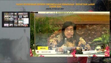 Photo of Rakorsus Tingkat Menteri, Antisipasi Karhutla di 2021